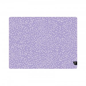 ⸬ PURPLE PASTEL POLKA DOTS