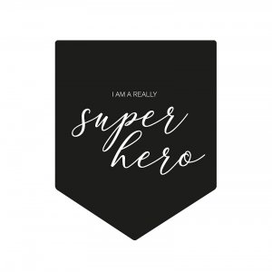 SUPER HERO flag